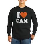 Cam Love Long Sleeve Dark T-Shirt
