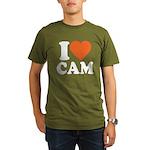 Cam Love Organic Men's T-Shirt (dark)