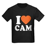 Cam Love Kids Dark T-Shirt