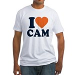 Cam Love Fitted T-Shirt