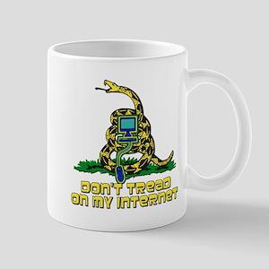 Don't Tread On My Internet Mug