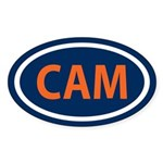 Cam Love Sticker (Oval)