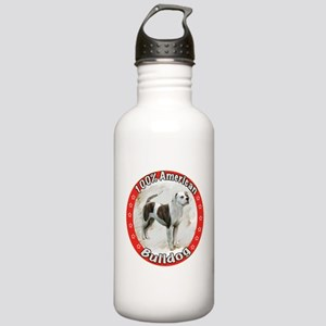100% American Bulldog Stainless Water Bottle 1.0L