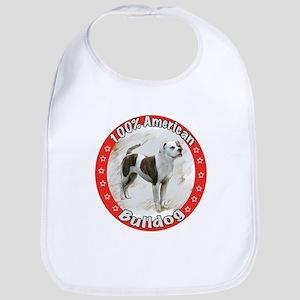 100% American Bulldog Bib