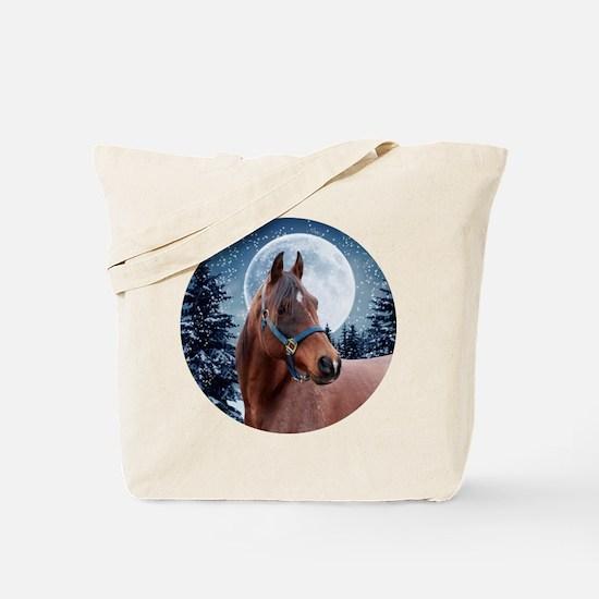 Winter Arabian #3 Tote Bag