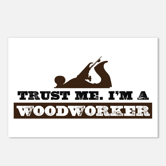 Trust a Woodworker Postcards (Package of 8)