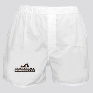 Trust a Woodworker Boxer Shorts