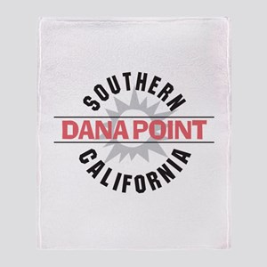 Dana Point California Throw Blanket
