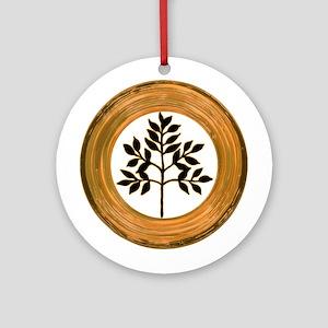 Eternal Growth Round Ornament