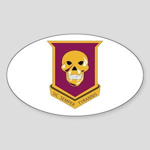 DUI - 3rd Bn - 314th Field Artillery Sticker (Oval