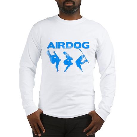 Blue Snowboard Airdog Long Sleeve T-Shirt