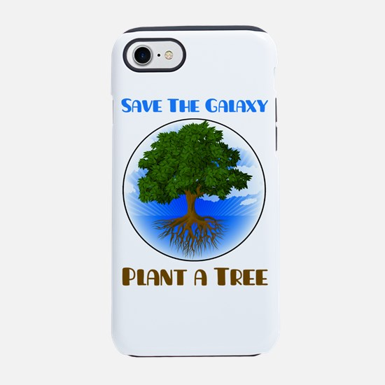 Save The Galaxy Plant A Tree iPhone 7 Tough Case