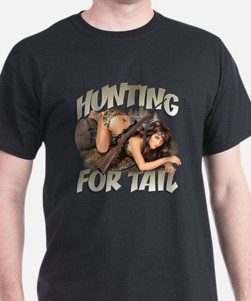 CP1008-Hunting For Tail-Pinup T-Shirt
