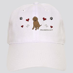 labradoodle chocolate Cap