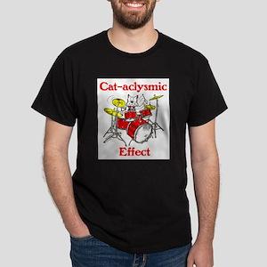Cat-aclysmic Effect Dark T-Shirt