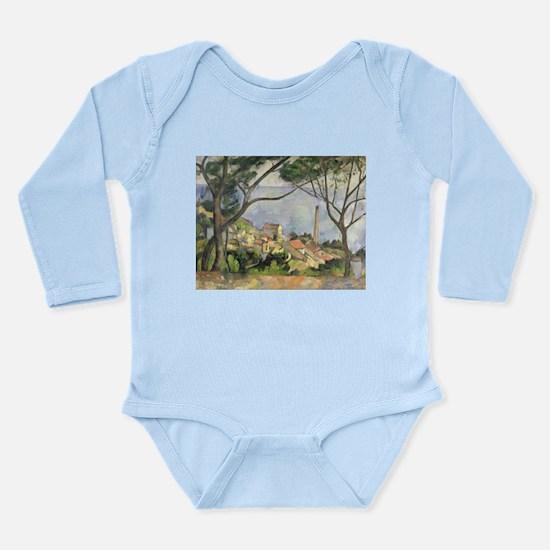 Cool Post impressionist Long Sleeve Infant Bodysuit