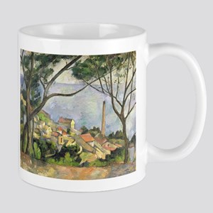 The Sea at lEstaque by Paul Cezanne Mugs