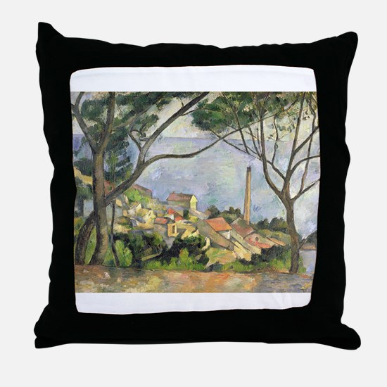 Cool Post impressionist Throw Pillow