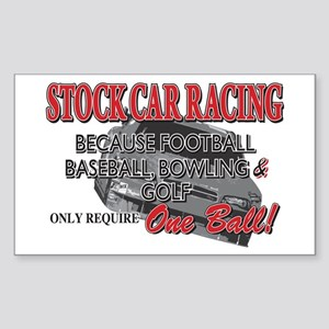 Stock Car Racing, Because Golf only requires One B