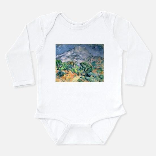 Post impressionist Long Sleeve Infant Bodysuit