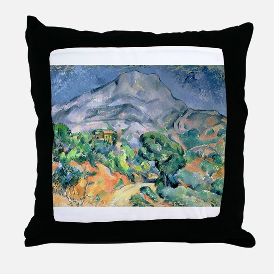 Post impressionist Throw Pillow