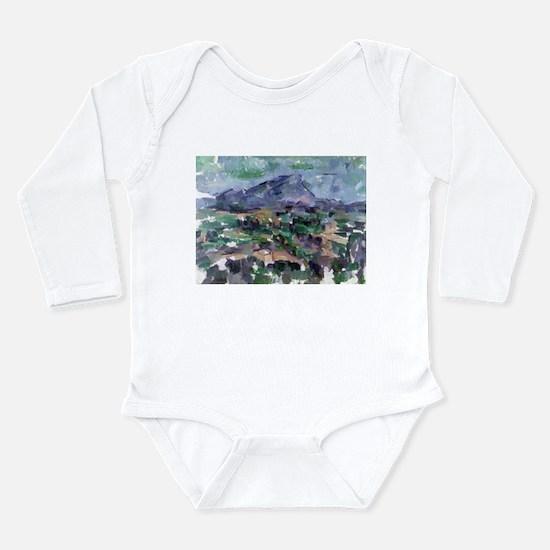 Funny Post impressionist Long Sleeve Infant Bodysuit
