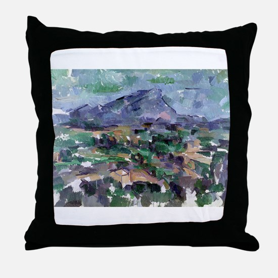 Funny Post impressionist Throw Pillow