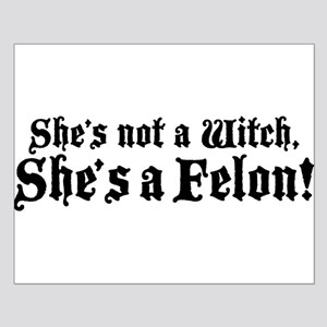 Christine O'Donnell Felon Small Poster