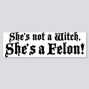 Christine O'Donnell Felon Sticker (Bumper)