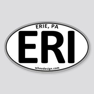 Oval ERI Sticker (Oval)