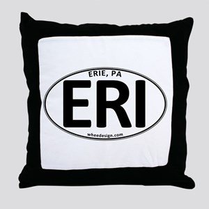 Oval ERI Throw Pillow
