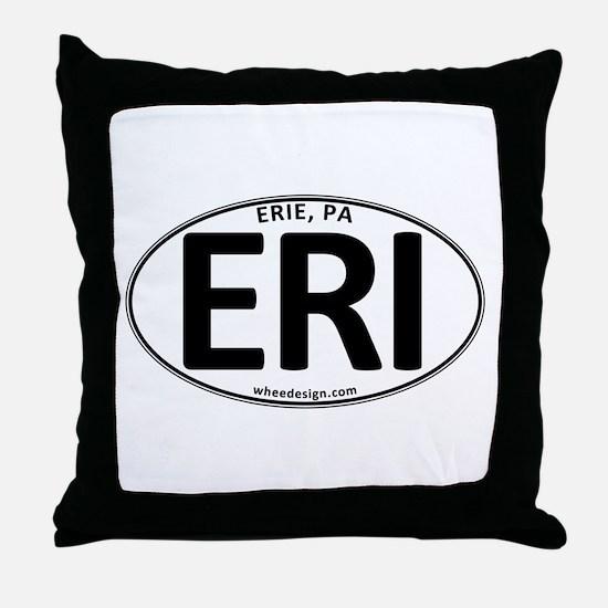 Oval ERI Throw Pillow