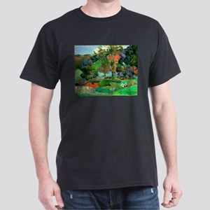 Landscape at Pont Aven by Paul Gauguin T-Shirt