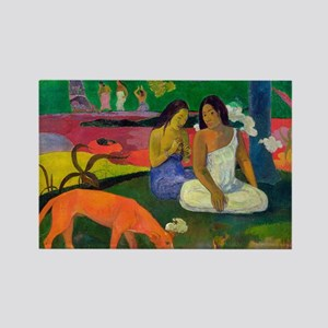 Arearea (The Red Dog) by Paul Gauguin Magnets