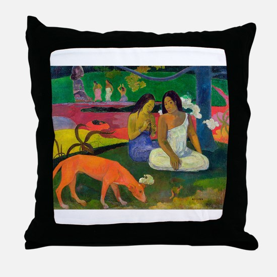 Cute Post impressionist Throw Pillow