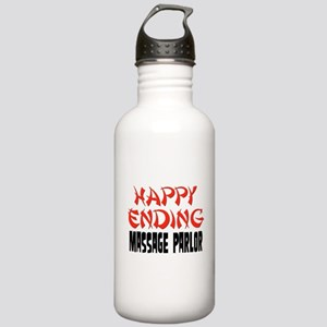 Happy Ending Massage Parlor Stainless Water Bottle