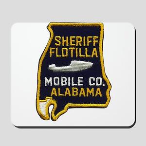 Mobile Sheriff Flotilla Mousepad