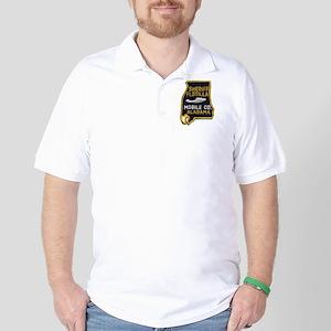 Mobile Sheriff Flotilla Golf Shirt