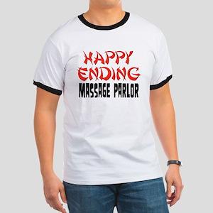 Happy Ending Massage Parlor Ringer T