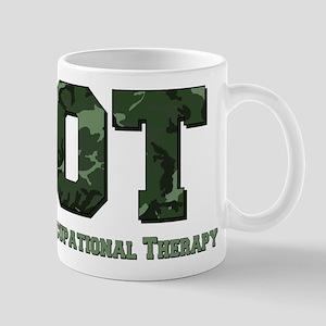 Dark Green Camo Mug