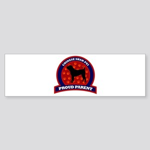 Chinese Shar Pei Bumper Sticker