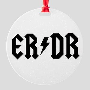 ER DR Round Ornament