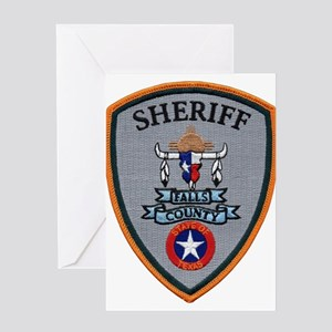 Falls County Sheriff Greeting Card