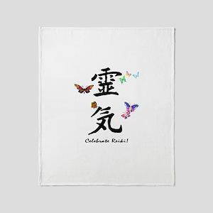 Celebrate Reiki Throw Blanket