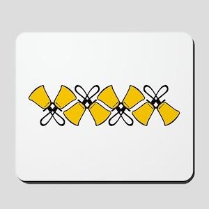 Bold Bell Border Mousepad