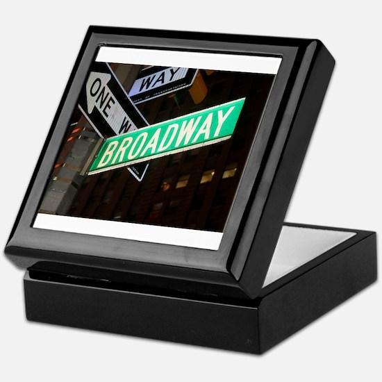 Broadway Keepsake Box