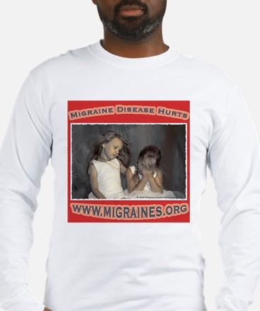 Migraine Hurts Long Sleeve T-Shirt