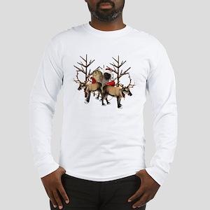 Santa Cairn Terrier Long Sleeve T-Shirt
