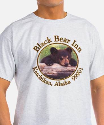 Black Bear Inn Ash Grey T-Shirt
