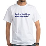 East of the River White T-Shirt